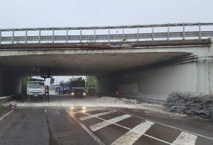 """""""Nessun danno strutturale al viadotto sull'A21"""". Domani via Leccacorvi sarà riaperta"""