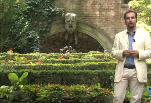 """Il suggestivo giardino Arata nella rubrica """"Memorie piacentine"""""""