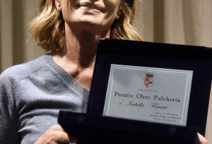 """Oltre Pulcheria 2018, premiata Isabella Ferrari: """"Dedicato alle donne vere"""""""