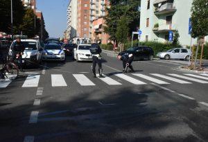 Viale Dante, anziana investita da un'auto sulle strisce pedonali