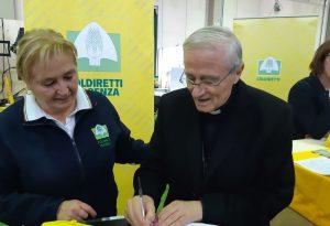 Piace.eat, anche il vescovo Ambrosio a sostegno della battaglia di Coldiretti