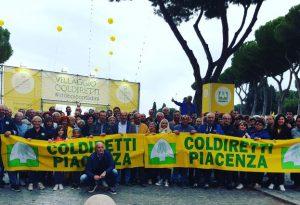 Villaggio contadino di Coldiretti a Roma: un centinaio i piacentini presenti