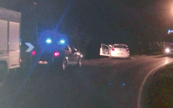 Due auto coinvolte in un incidente in via Molfettesi d'Argentina