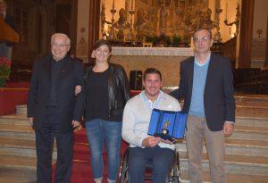 Al campione di canoa paralimpica Farias il Premio San Fiorenzo 2018