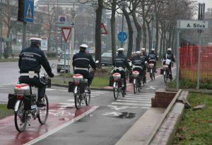 Tornano le pattuglie in bicicletta per la polizia municipale di Piacenza