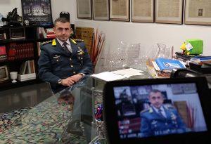 """Il comandante della Gdf, Sanapo: """"Una divisa che significa sacrifici ma anche soddisfazioni"""""""
