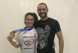 Giada Pedretti della Yama Arashi vince l'oro al Firenze Open