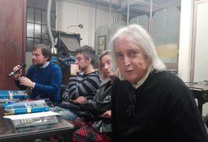 """Enrico Vanzina al Museo di Libertà per il suo ultimo libro: """"La sera a Roma"""""""