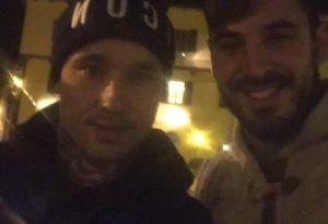 """Dopo la vittoria con il Frosinone, il """"ninja"""" si rilassa ad Agazzano"""