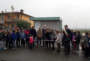 Inaugurato il 26esimo distributore di acqua pubblica della provincia di Piacenza