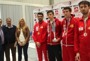 Romagna superstar ai campionati regionali di scherma a squadre
