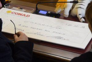 Cinquemila euro per la Casa di Iris. Il dono arriva da Conad Centro Nord