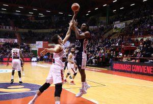 Basket, serie A2: impresa sfiorata, l'Assigeco si arrende alla Unieuro Forlì