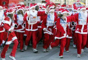 Un Natale tutto di corsa:  Babbi in marcia a Piacenza e Bobbio. Sfida sul Panettone di Groppallo