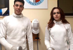 Scherma: Francesco Curatolo ed Elena Perna brillano al Circuito Europeo Under 23