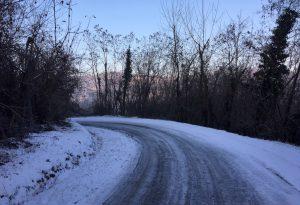 Neve nella notte, Piacentino imbiancato dalla pianura ai monti. Caldo nel week-end