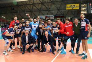 Gas Sales sul pezzo, i giovani del Club Italia piegati in tre set. FOTO