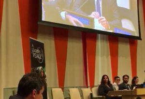 """Roberto Reggi parla all'Onu: """"Formiamo leader per la pace nel mondo"""""""