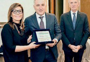 """Dirigente dell'anno: Federmanager premia Scotti, """"ad"""" della Bolzoni"""