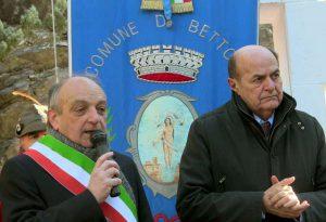 Eccidio di Rio Farnese, commemorazione a Bettola con Bersani