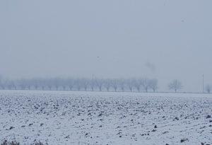 Nevica nel Piacentino, allerta criticità sulle autostrade