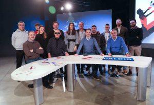 Gatti replica in diretta ad Alberto Burzoni sulla questione fusione: scintille a Zona Calcio