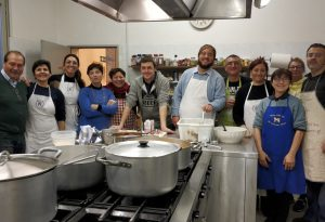 Accademia della Cucina Piacentina, cena di fine corso. Ricavato alla Casa di Iris