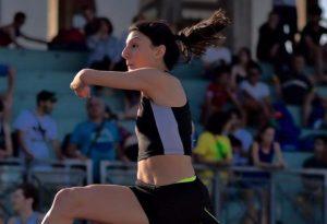 Pioggia di medaglie ai campionati italiani, con titolo regionale Under 20 nel salto in lungo