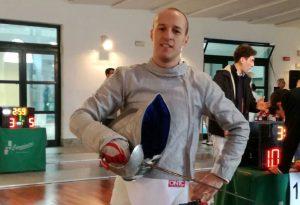 Sciabola: buon terzo posto di Francesco Monaco al campionato Master di Bologna