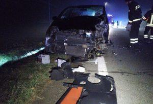 Scontro frontale a Mottaziana: tre feriti gravi d'urgenza all'ospedale