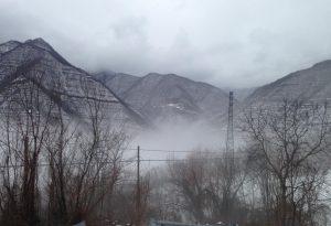 Fiumi ingrossati, nelle prossime ore ancora pioggia e neve. Miglioramenti da domani sera
