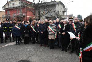 Giornata del Ricordo, le foto della cerimonia nei giardini Martiri delle foibe