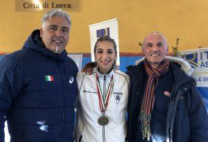 La martellista Agata Gremi conquista il bronzo ai Campionati Assoluti e giovanili di lanci