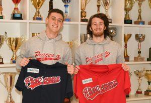 Piacenza Baseball nel segno dei giovani: arrivano gli Under 20 Gardenghi e Caimmi