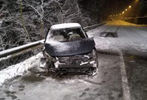 Guidava drogato quando provocò un incidente sulla neve: denunciato
