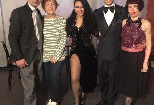 Paulina e Juan: a Piacenza i campioni colombiani di tango. VIDEO
