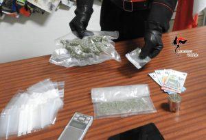 Quattro arresti e oltre un etto e mezzo di droga sequestrato