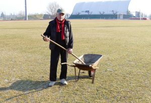 """Luigi Dosi, il """"custode di ferro"""": da 60 anni si occupa dello stadio Soressi"""