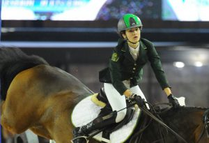 Anche la campionessa di equitazione Caterina Sbaraglia a Zona Sport