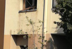 Incendio in via Marzabotto, anziana in salvo