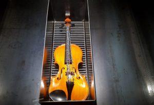 Il violino con il filo spinato di Kounellis: si è aperta la mostra-evento