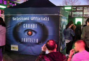 Trecento persone da tutta Italia per le selezioni del Grande Fratello