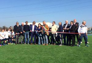 Inaugurato il nuovo campo in sintetico della Spes Borgotrebbia