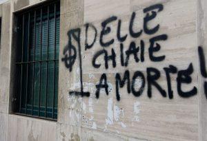 Minacce di morte a Delle Chiaie in via Musso. Non si ferma la polemica