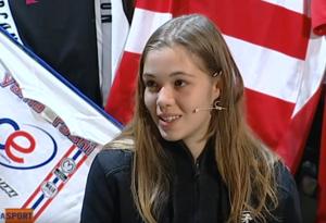 Anche Asia Sassi a Zona Sport: la 14enne cintura nera di judo