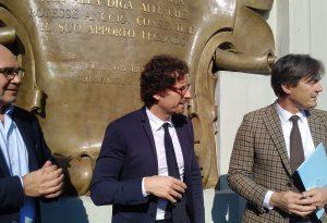"""Il ministro Toninelli al Molato: """"Il governo investirà sulle dighe"""""""