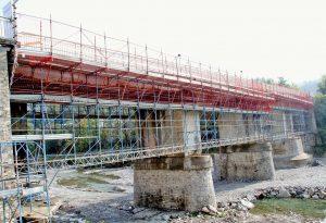 Da domani e per tutto il weekend scatta la chiusura del ponte sul Nure