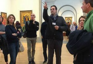 """Da Rivergaro alla National Gallery di Londra: """"La Val Trebbia, che capolavoro"""""""