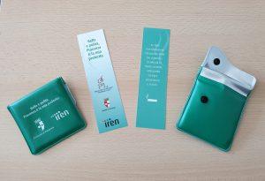 Posacenere portatili per i fumatori della biblioteca Passerini Landi