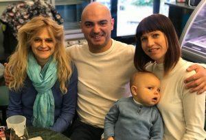 Salvato a nove mesi con un trapianto, il papà attraverserà a nuoto lo stretto di Messina
